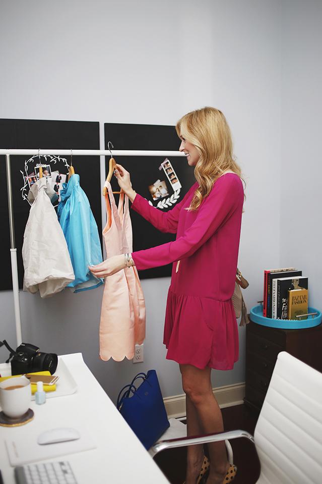 stylist wardrobe cart