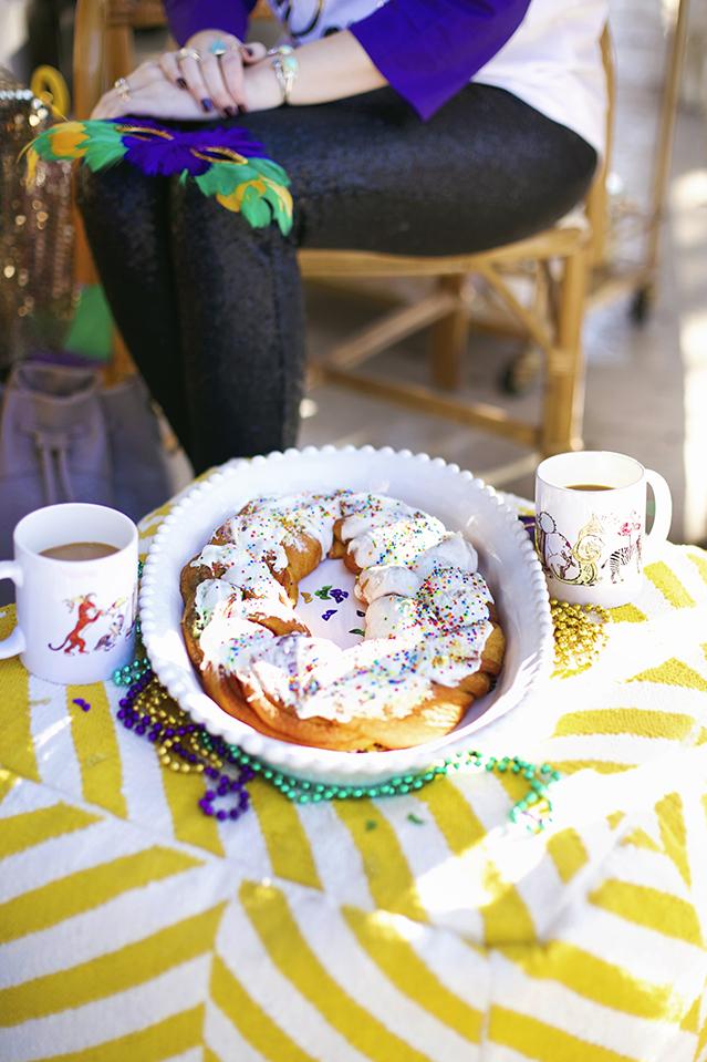 Eat King Cake For Breakfast