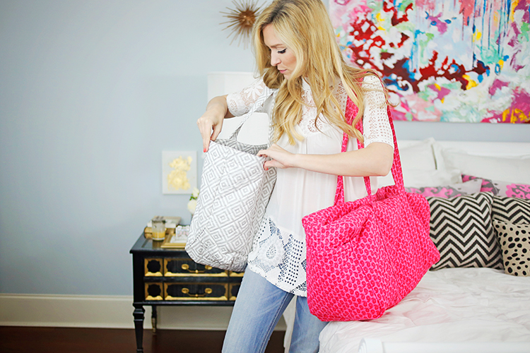 quilted koala travel bags