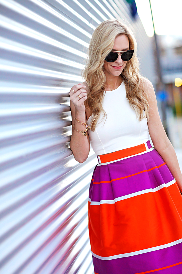bright summer skirt