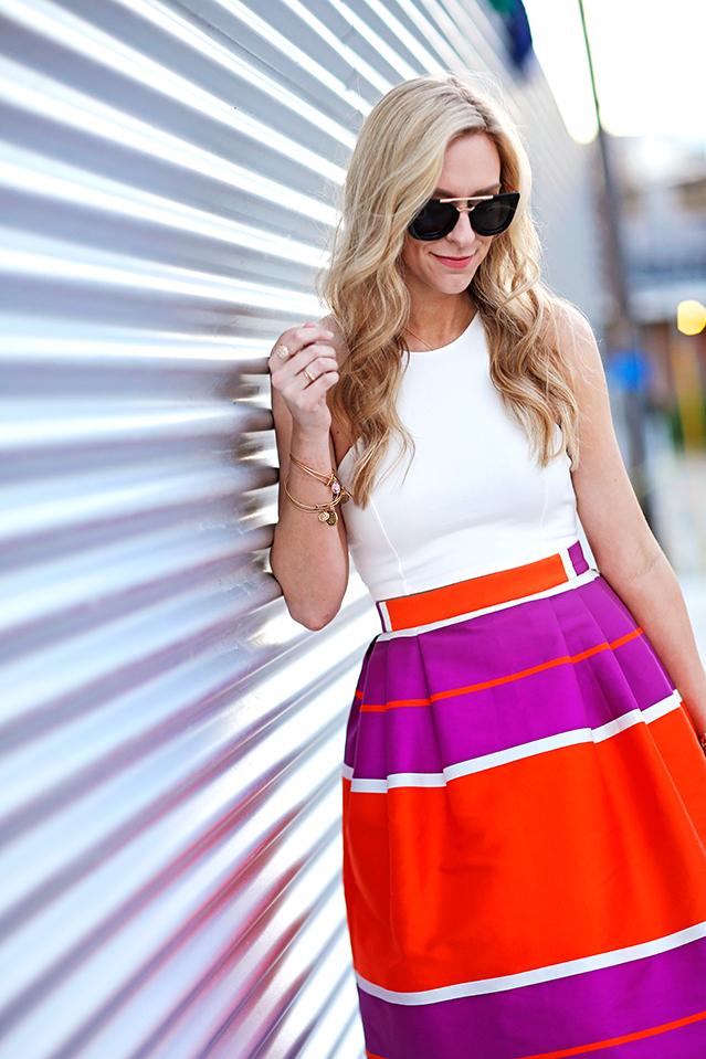 bright summer skirt