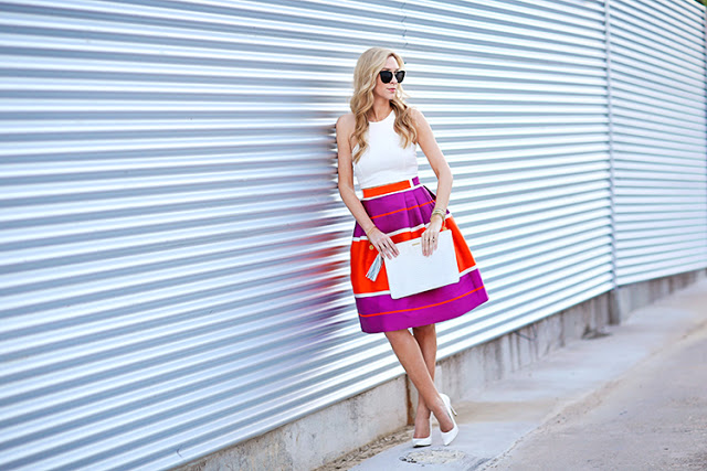 summer brights outfit idea