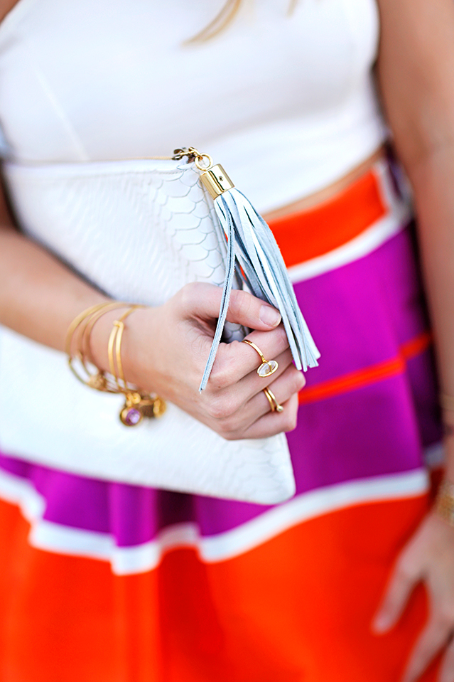 how to wear summer brights and whites