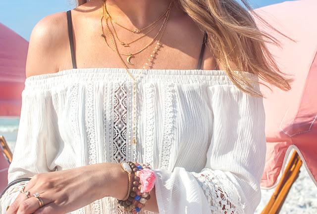 jewelry for a beach trip