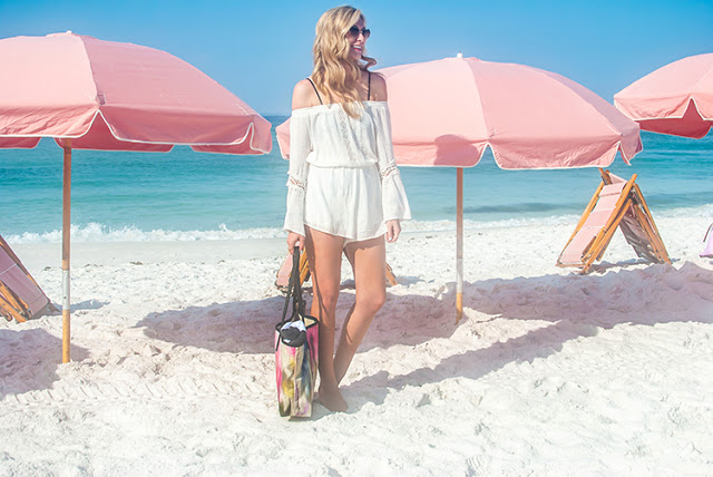 romper as a swimsuit coverup