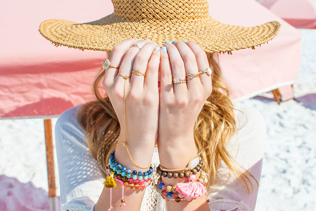 jewelry for a summer beach trip