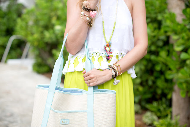 tassels and neon summer accessories