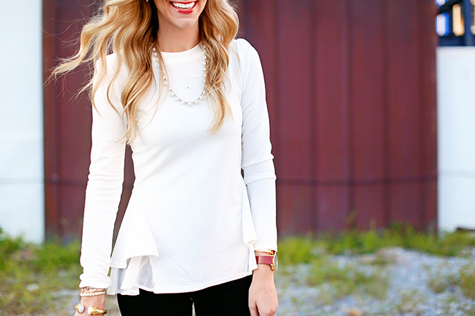 the white top you need for fall