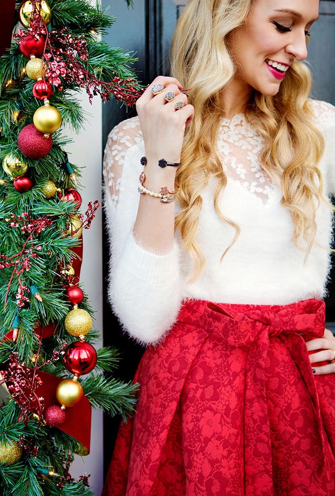 kendra scott druzy ring perfect for the holidays
