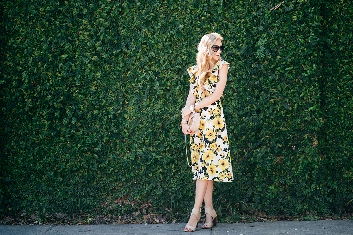 perfect spring wedding guest dress