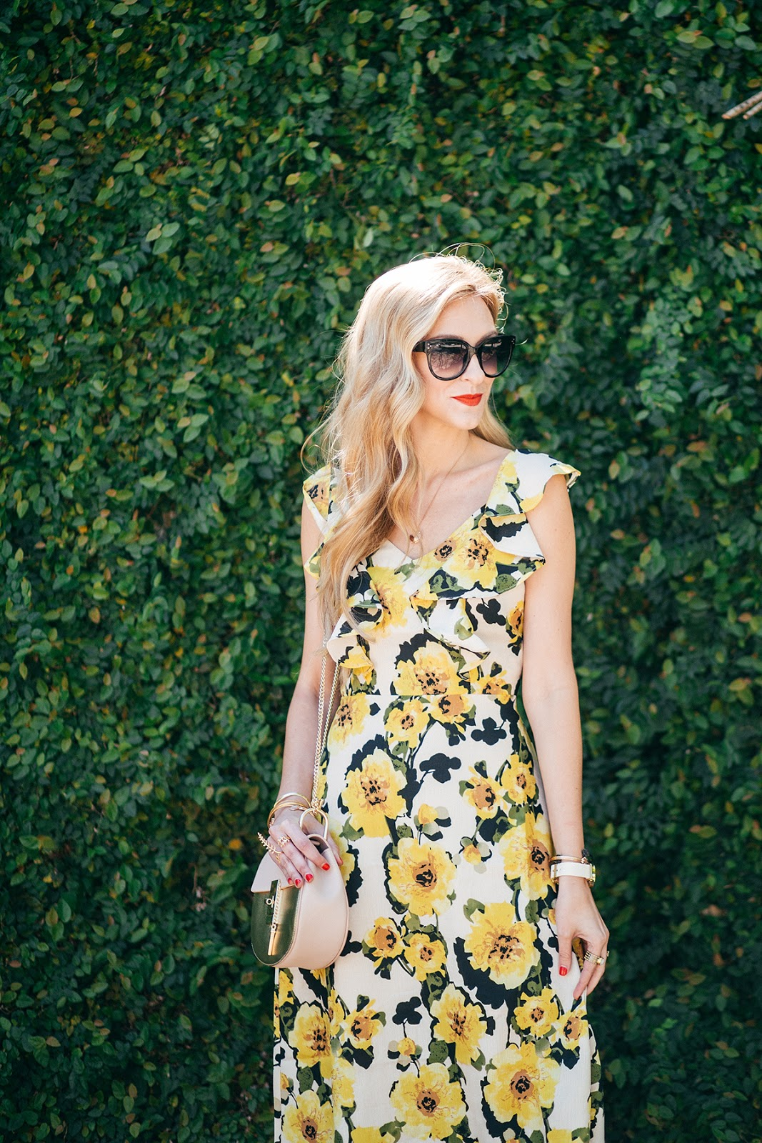 a sophisticated wedding guest dress for under $100