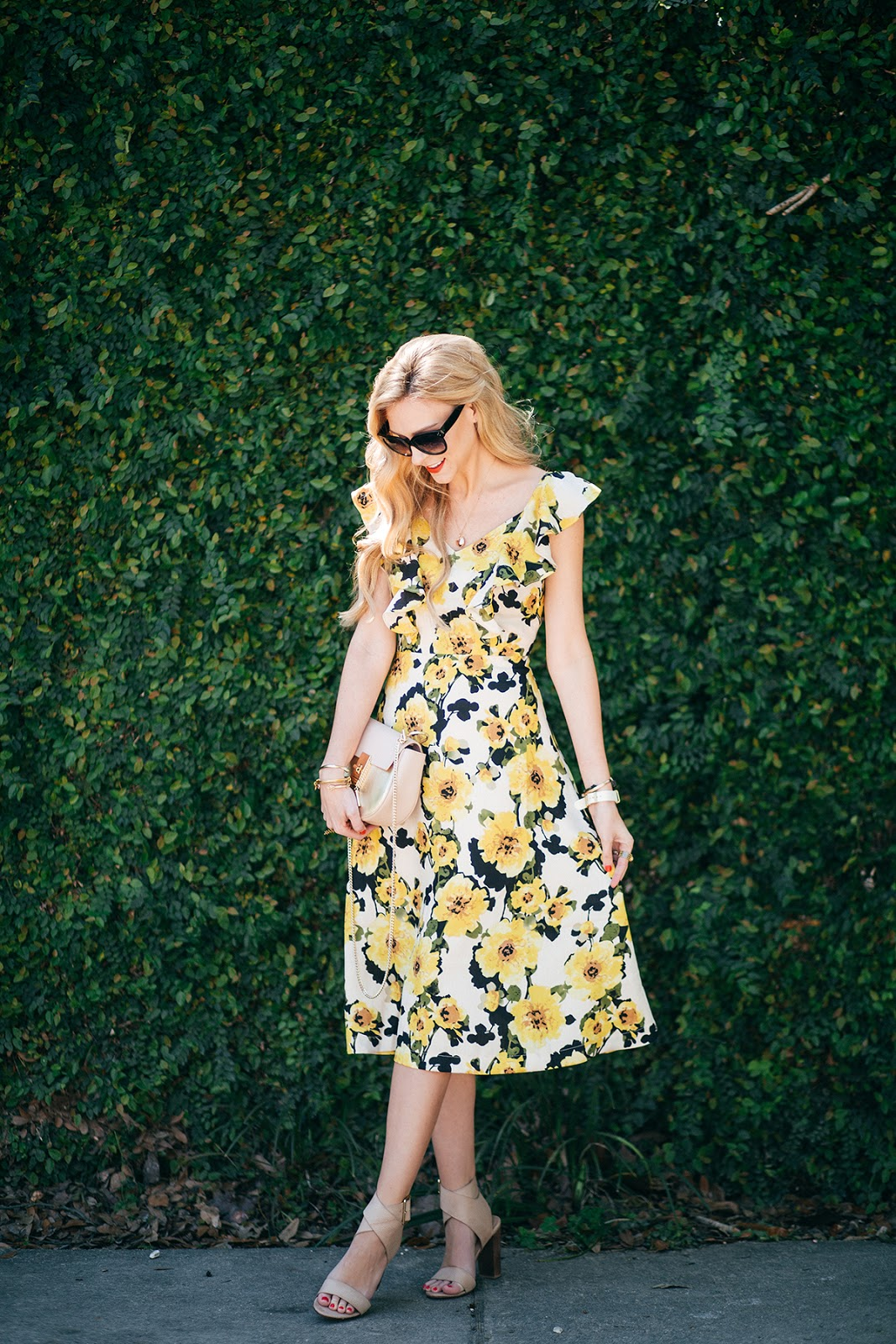 this spring's cutest floral dresses for under $100