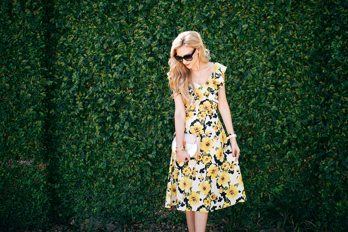 the ModCloth floral dress you need for spring