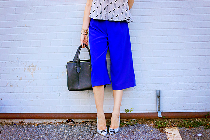 how to wear culottes for fall