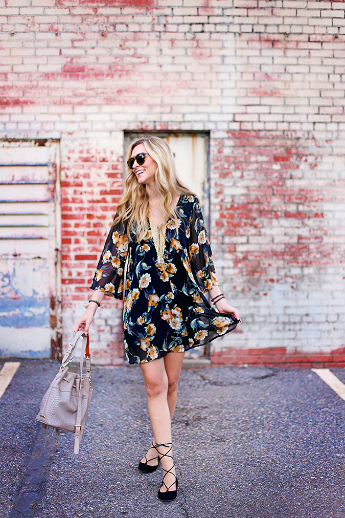 how to wear fall florals