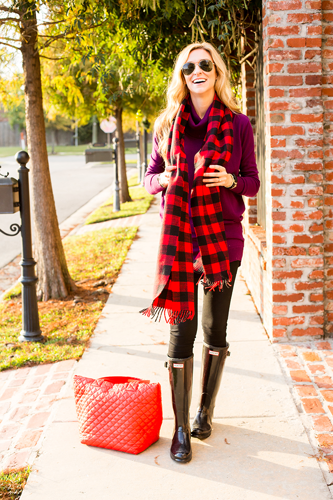ways to wear hunter boots