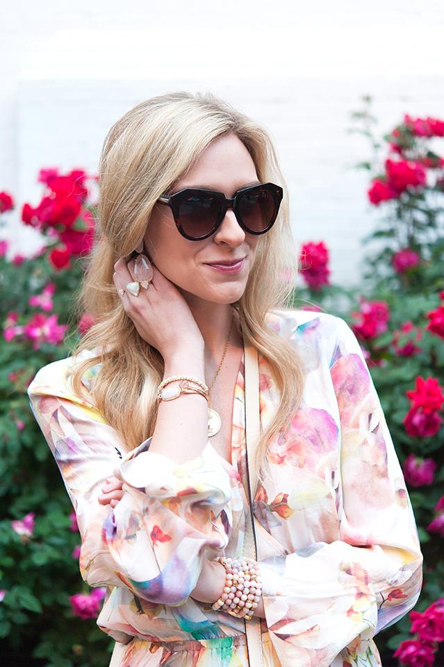 blush toned jewelry