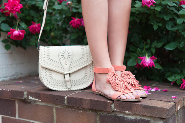 Sole Society sandals and purse