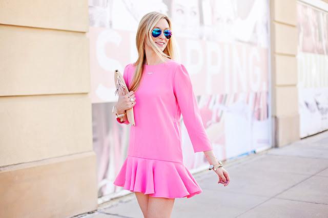 hot pink dress under $50