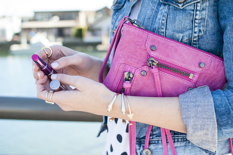 pink Botkier crossbody bag