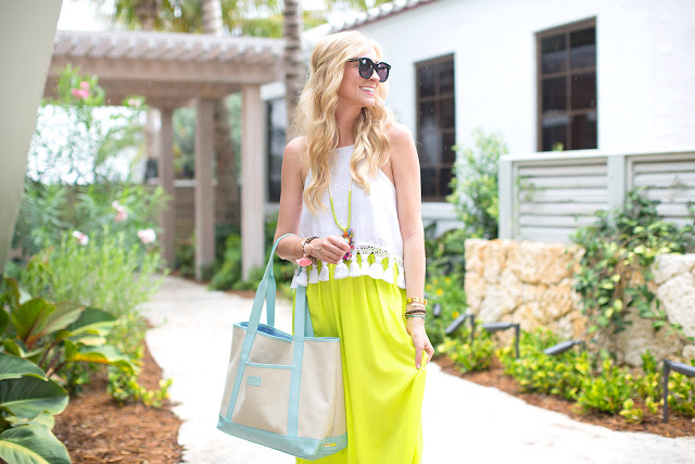 neon summer outfit inspiration