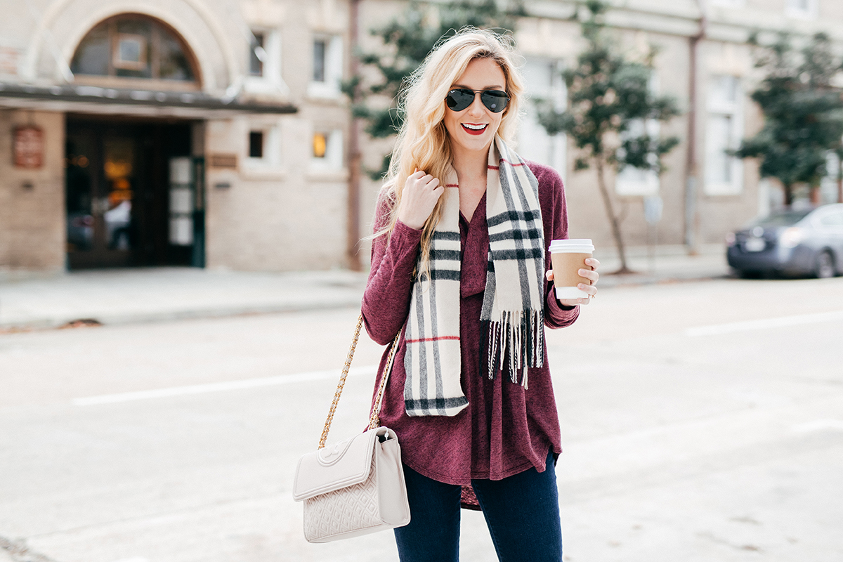 Winter Investment Pieces | Burberry Scarf