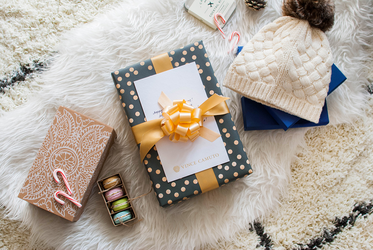 Blogger Secret Santa Exchange with Vince Camuto