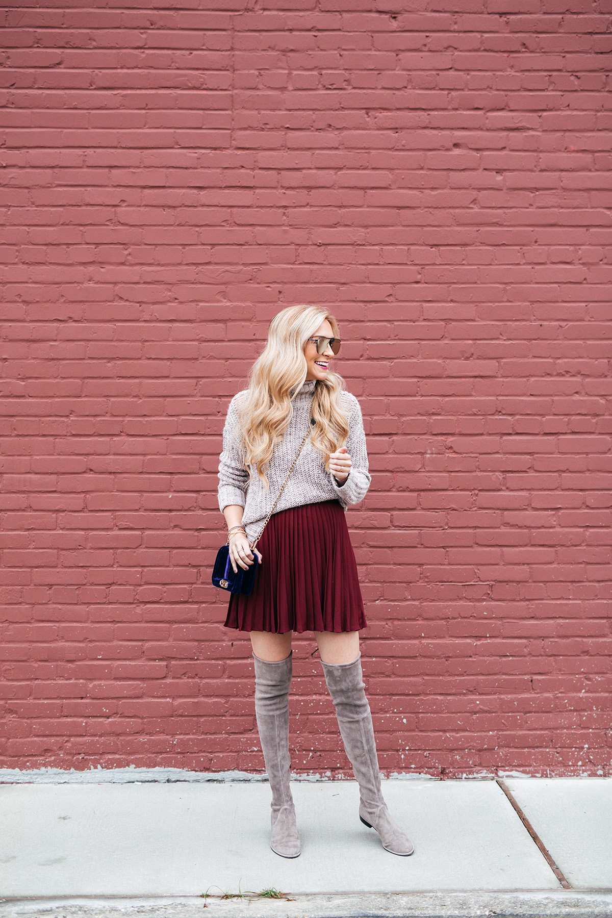 how to wear the pleated skirt trend new traditions