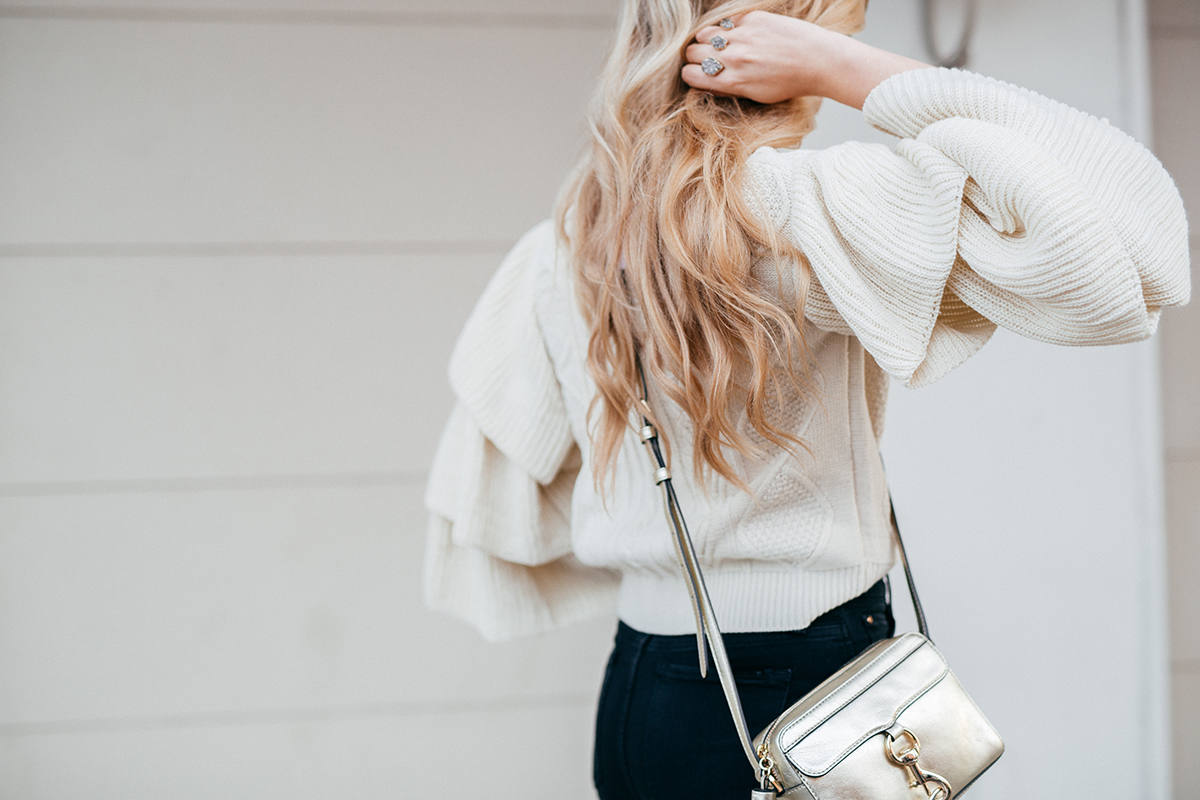How to Wear the Ruffle Sleeve Trend