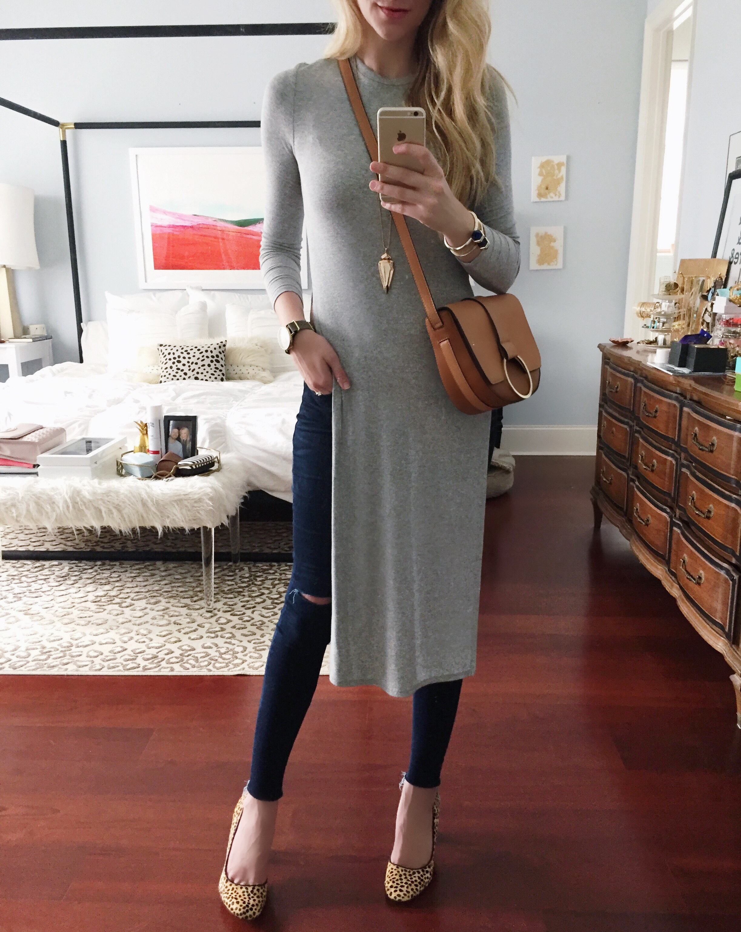 High Slit Top | Instagram Outfit