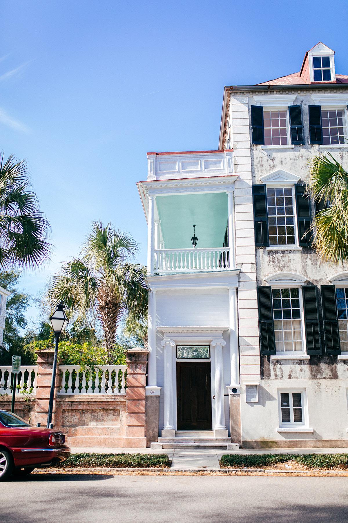 Charleston girls' trip itinerary