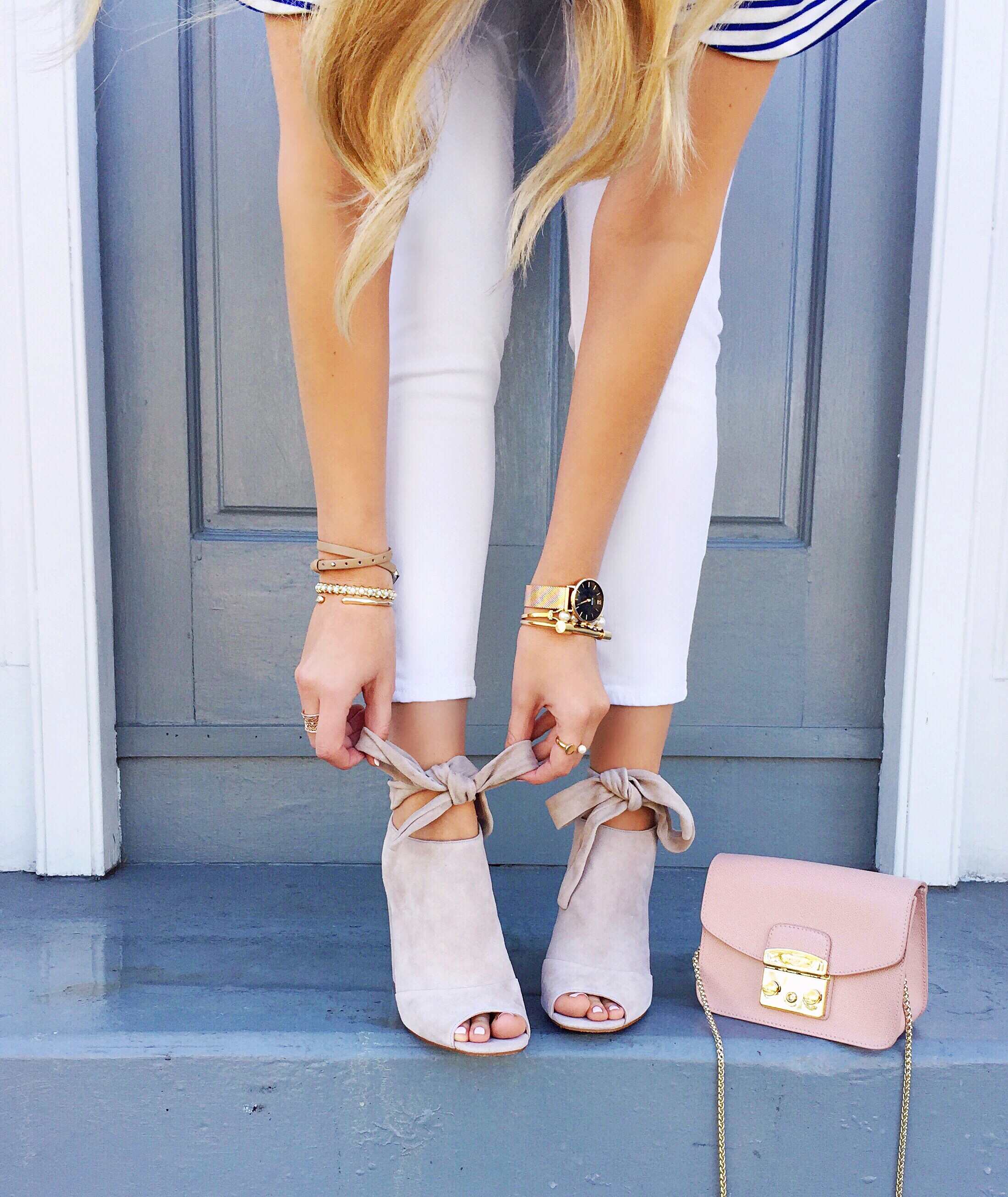 Suede Bow Mules | Spring Shoes