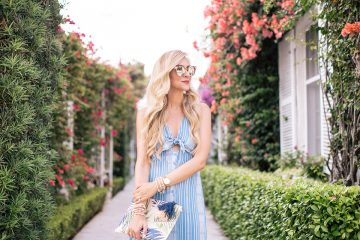 Tie-Front Dress | Vacation Ready Dress Styles Under $100 | apinchoflovely.com