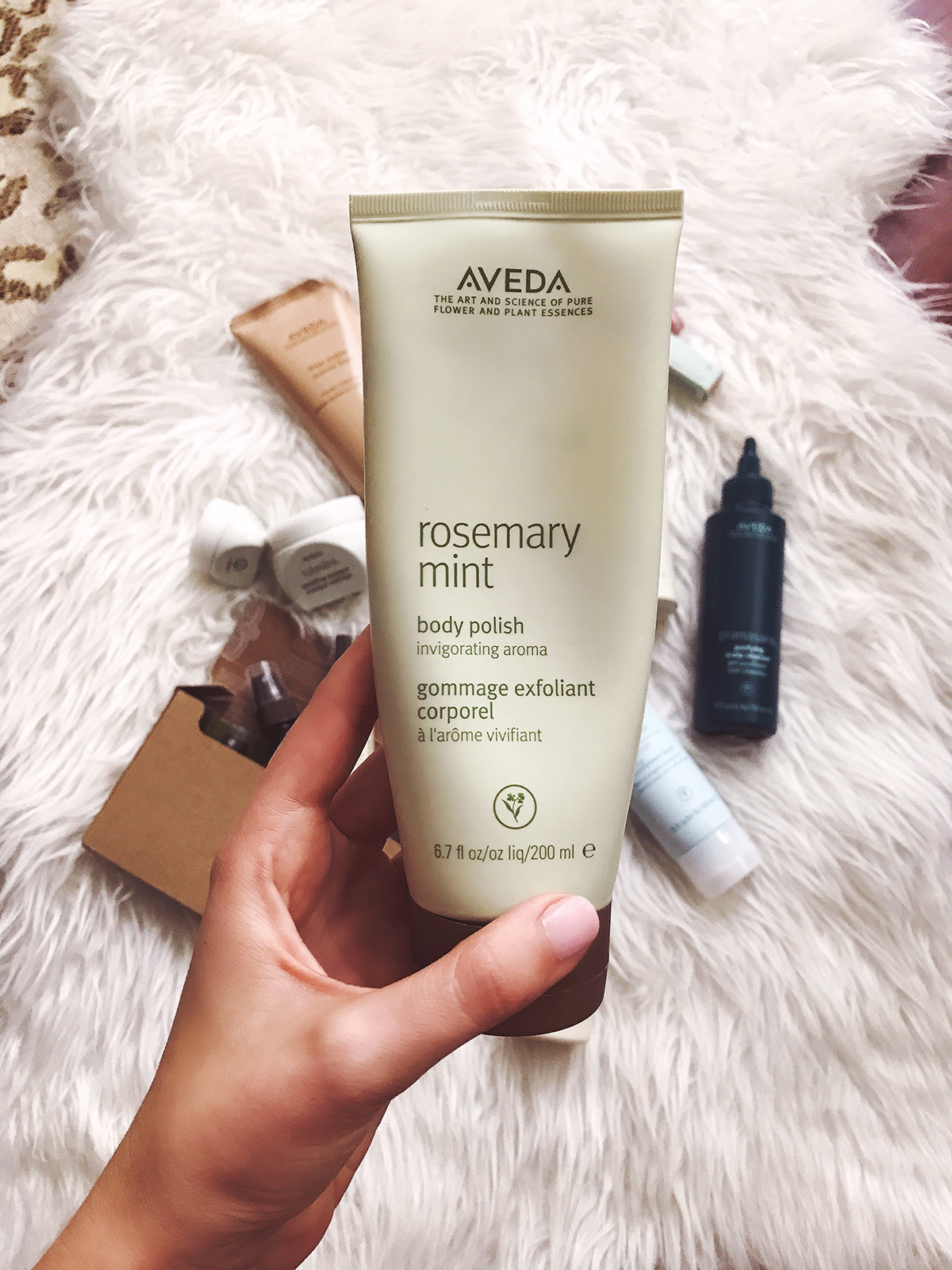 Body Polish | Aveda Favorite Products | Eco Friendly Beauty Products