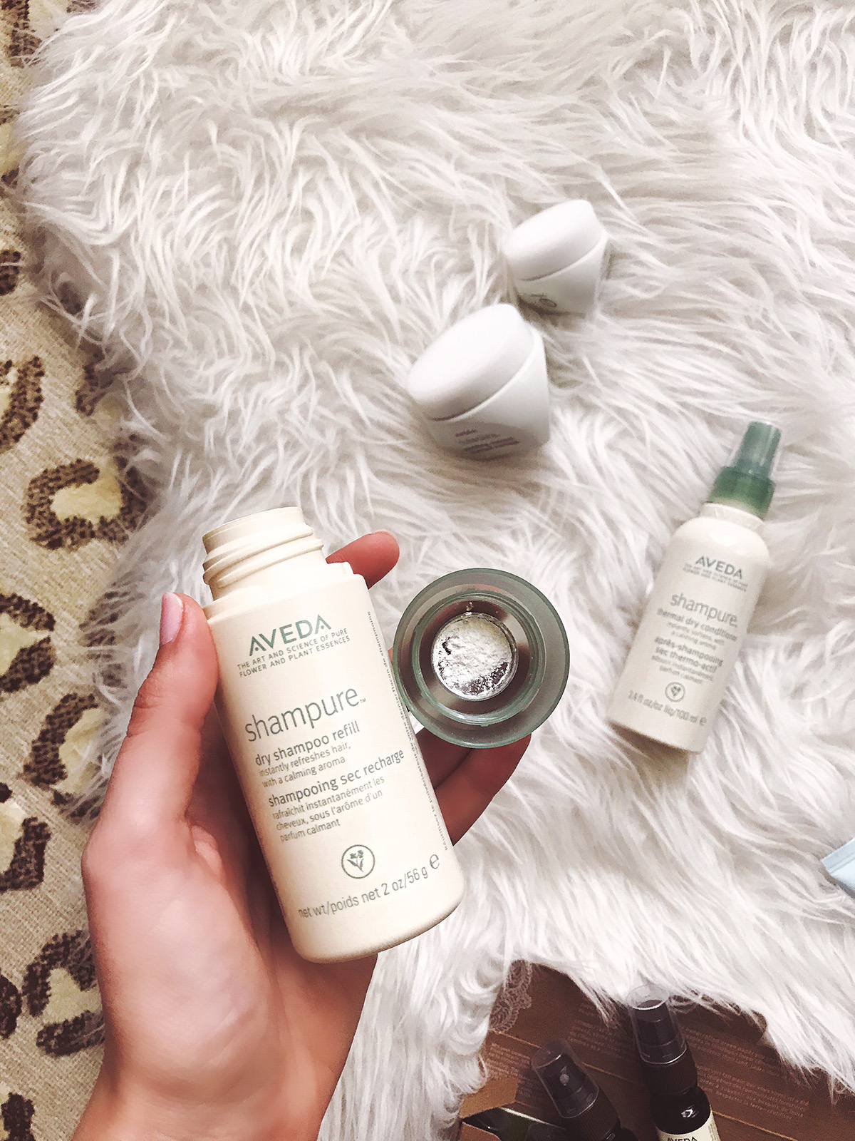 Dry Shampoo Powder | Aveda Favorite Products | Eco Friendly Beauty Products