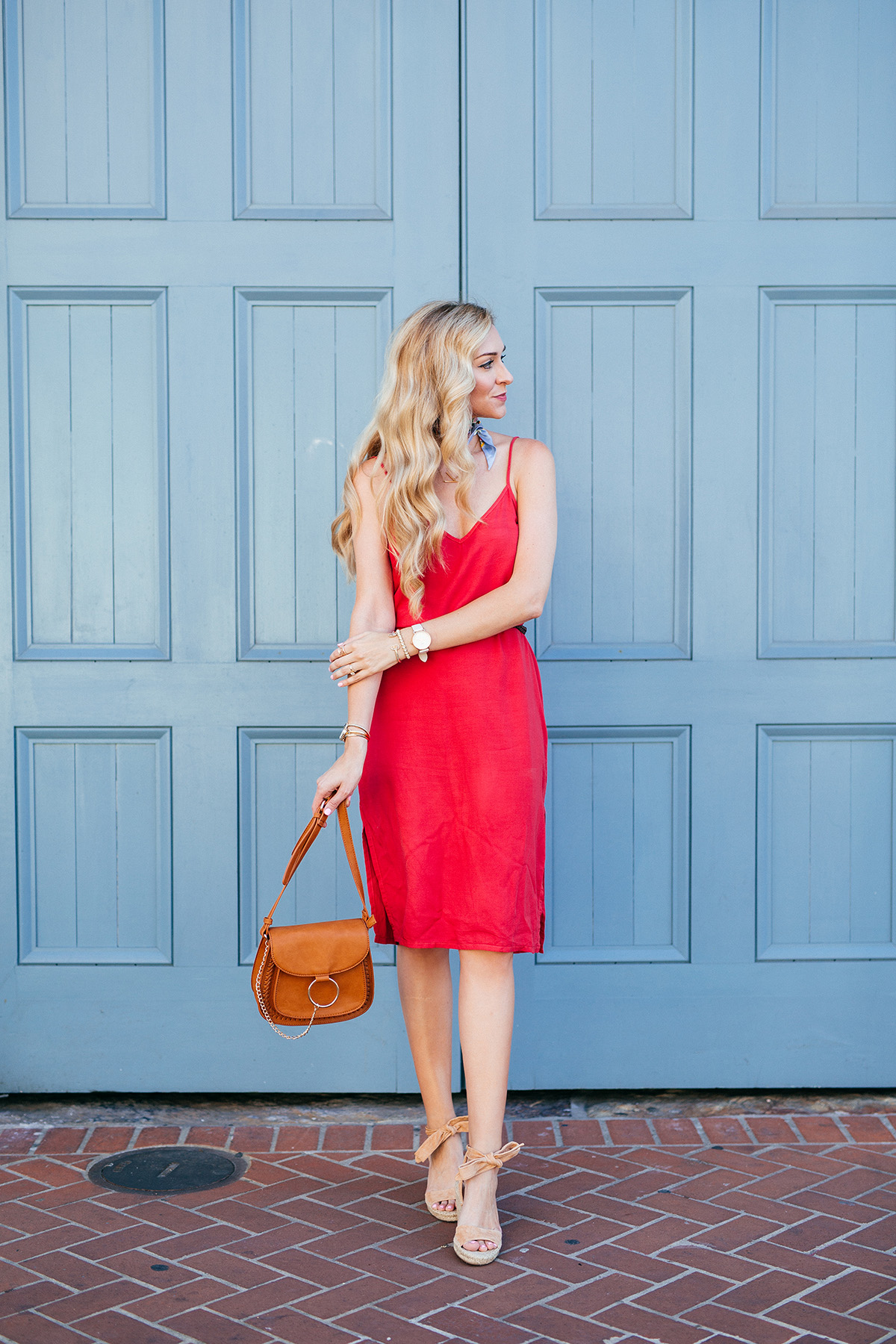 The everyday espadrille under $100 + the classic slip dress
