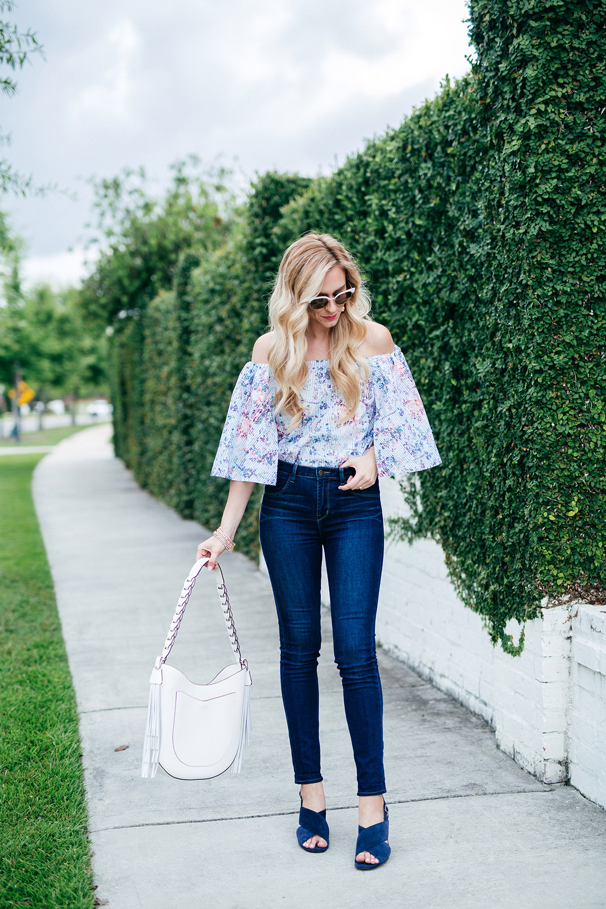 Banana Republic off the shoulder top | Tips For Identifying Your Personal Style