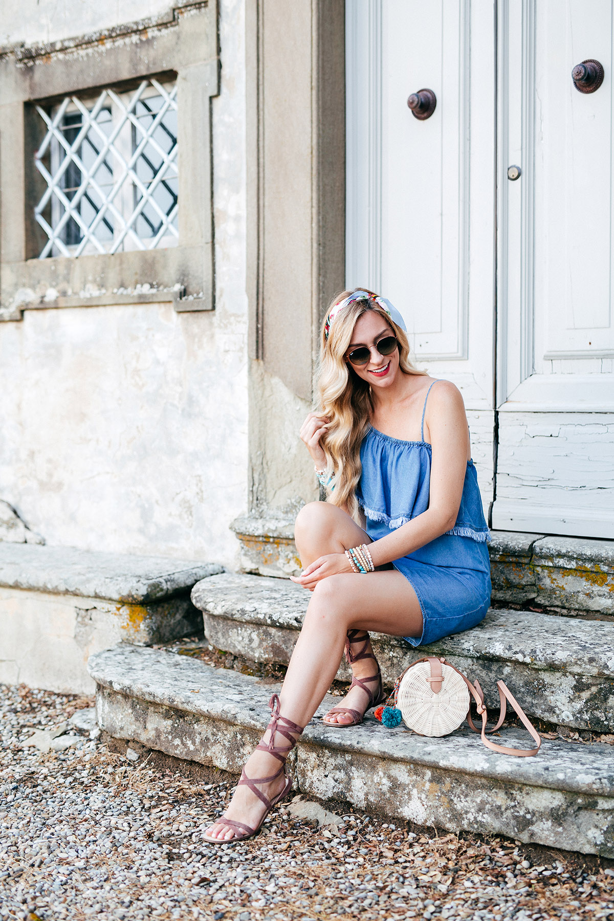 Summer Chambray Dress Styles | Summer Outfit Ideas