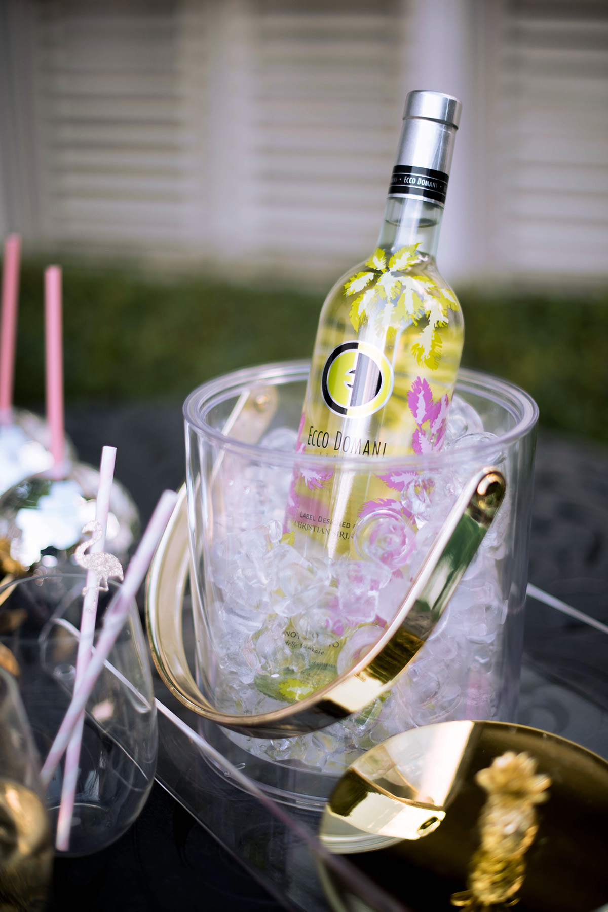 Instantly Upgrade Your Summer Moments | Summer Wine Cocktails | Ecco Domani Wines x Christian Siriano