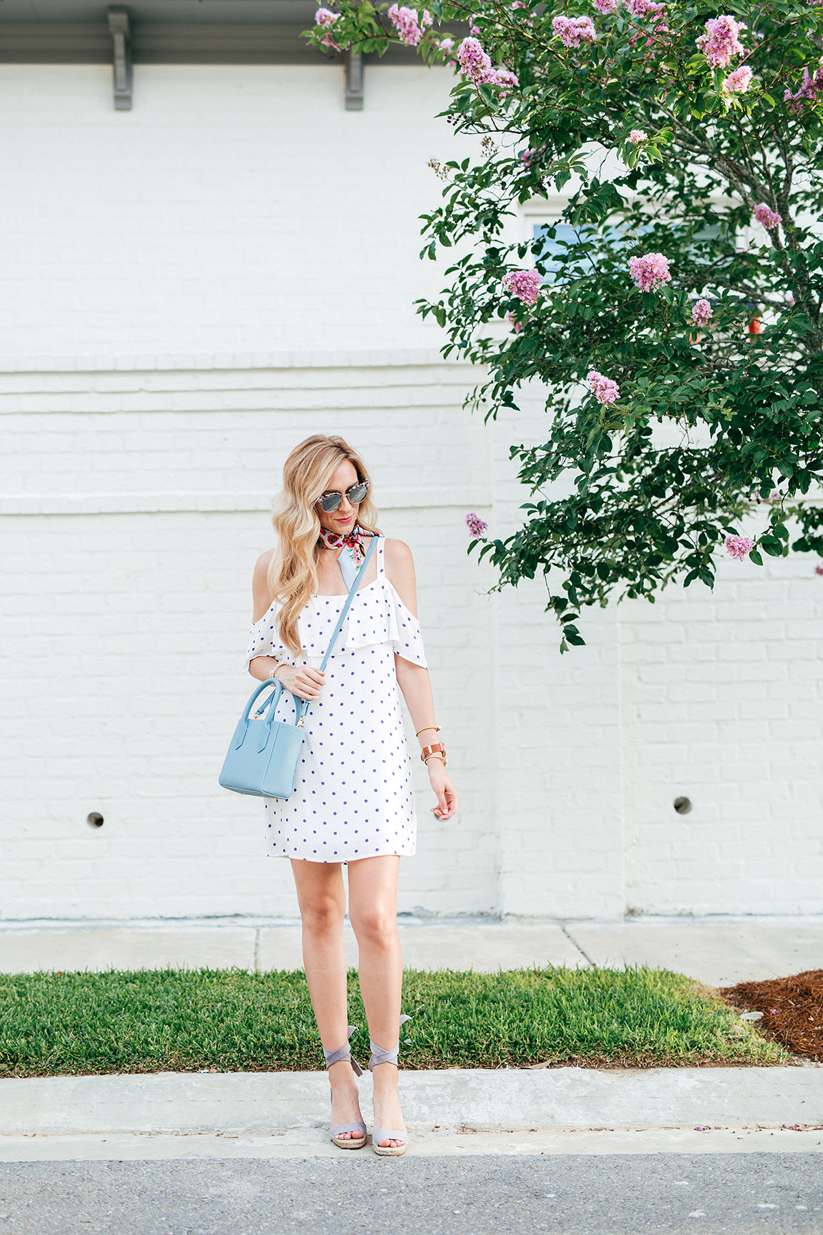 Polka Dot Dress | 4th of July Outfits | Best 4th of July Sales