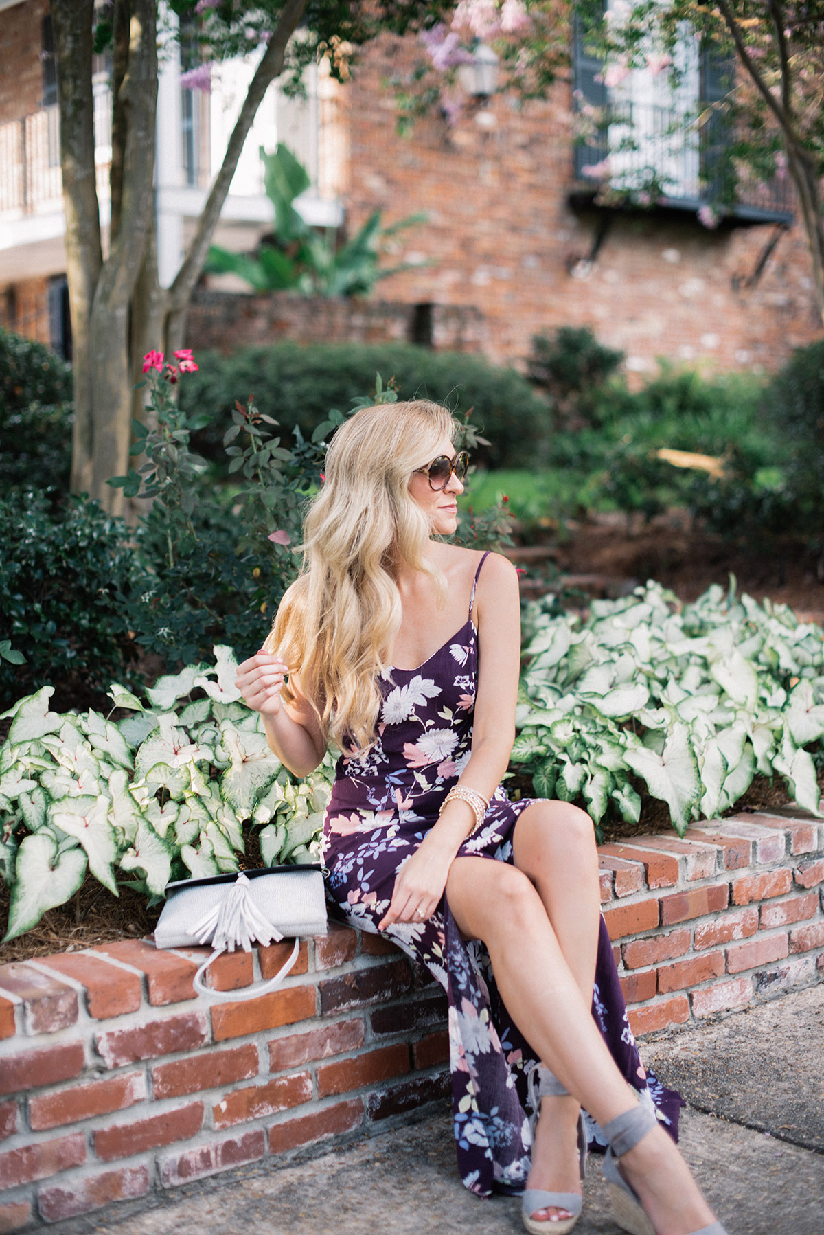 10 Affordable Summer Maxi Dresses | Purple Maxi Slip Dress | Late Summer Outfit Ideas