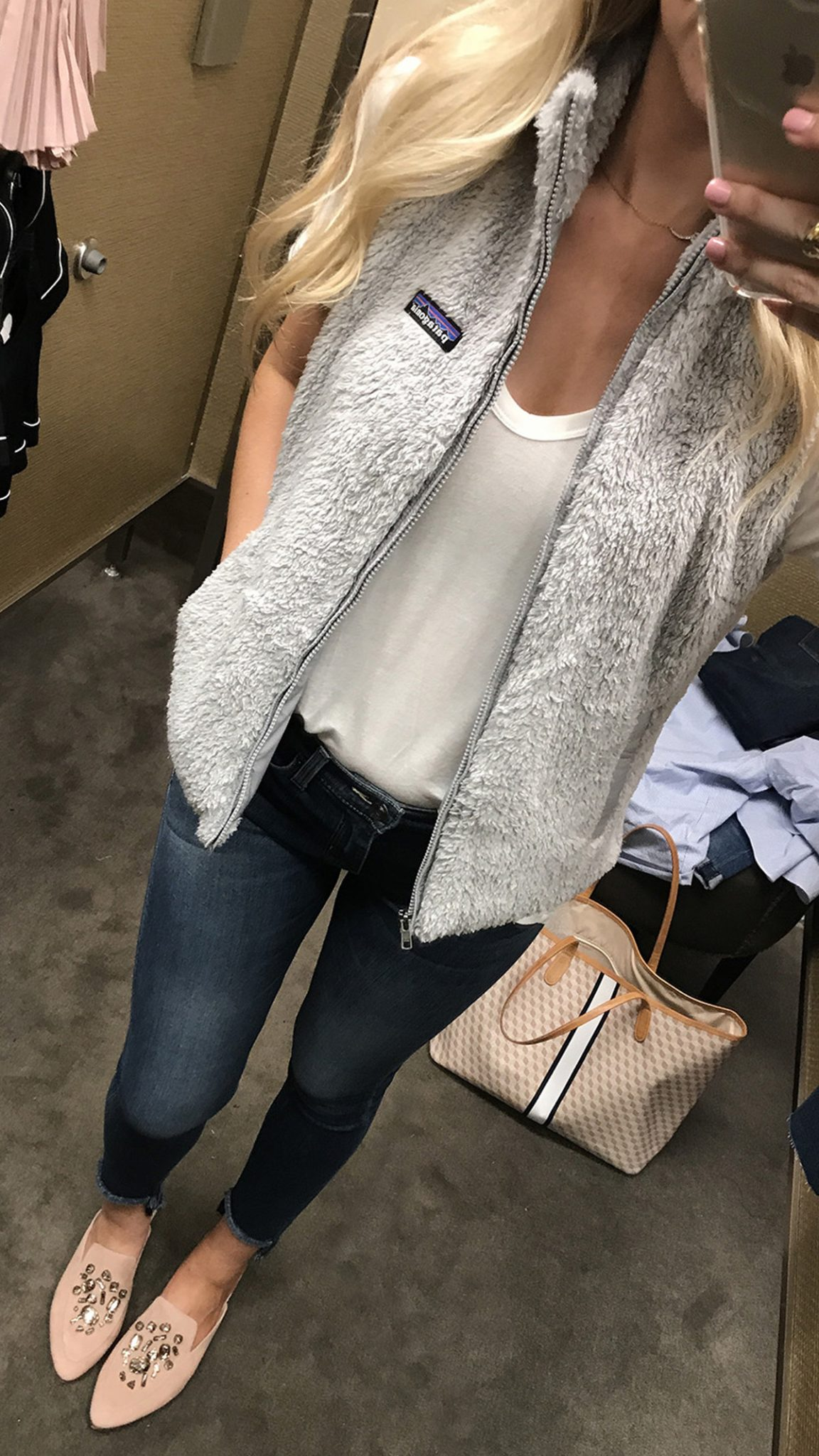 Nordstrom Anniversary Sale Dressing Room Session | Patagonia Vest
