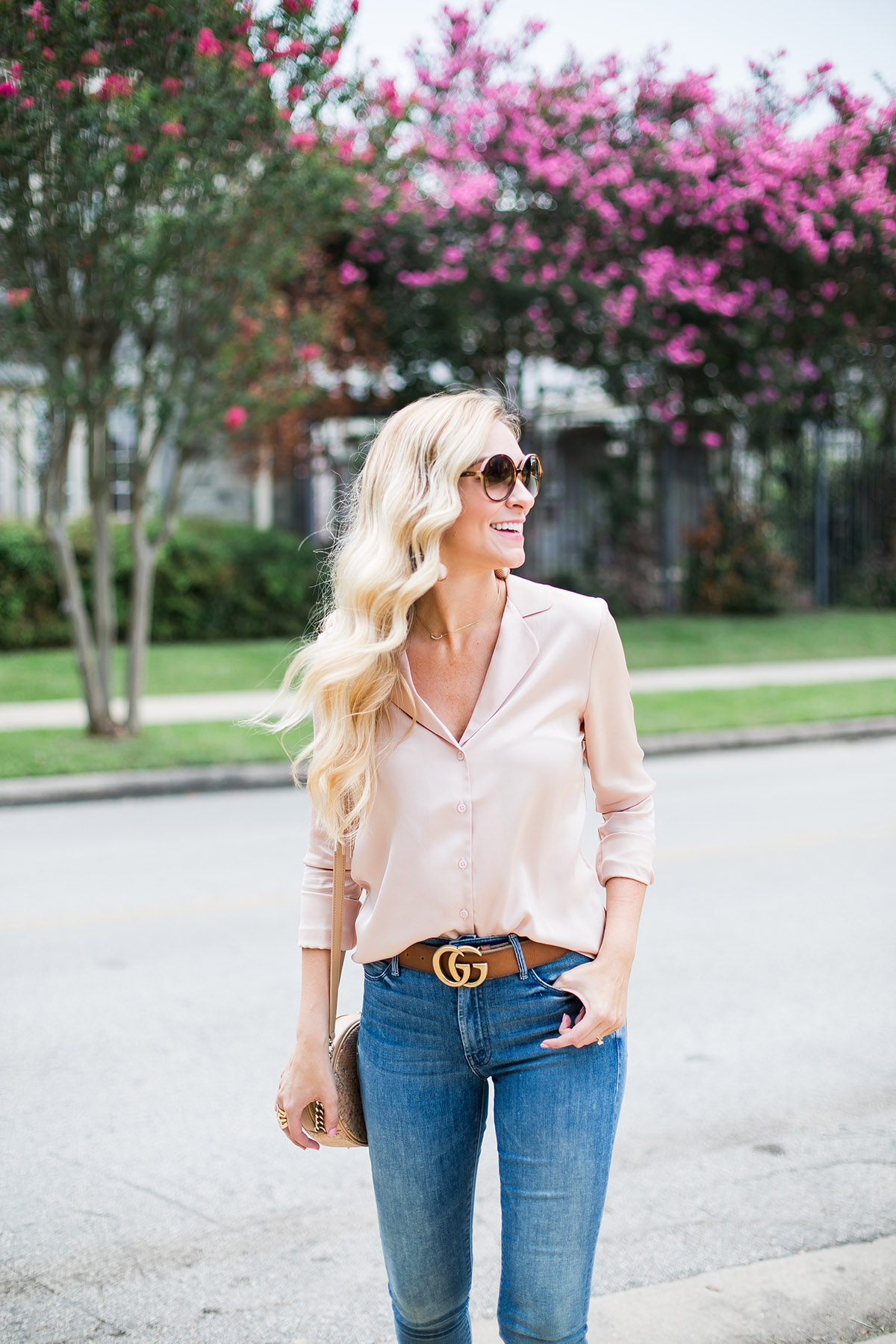 Blush Pajama Top | How to Wear the Pajama Top Trend