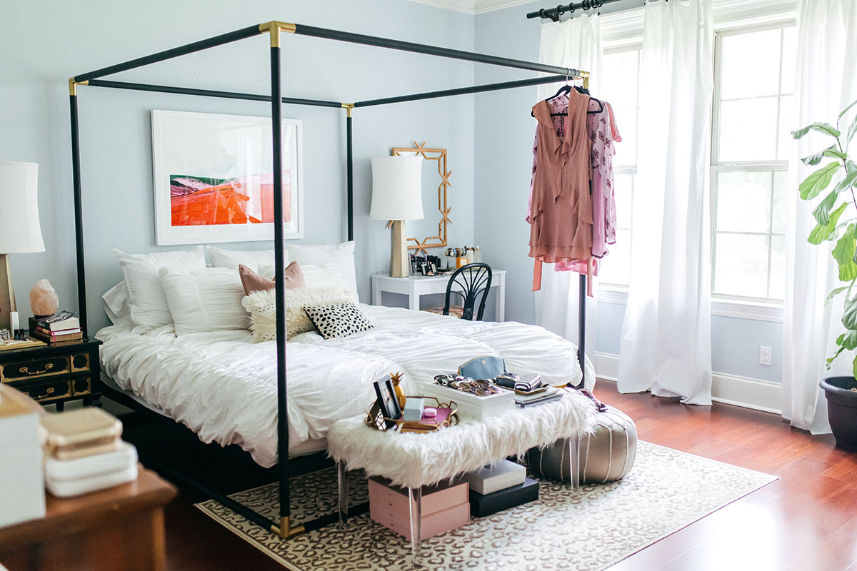 Master Bedroom Inspiration | How To Create A Space For Positivity | Pretty  Bedroom Organization