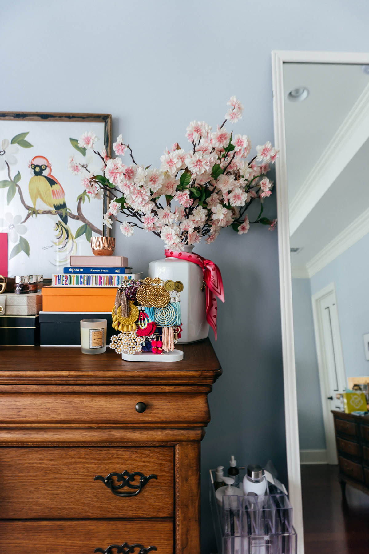 Master Bedroom Inspiration   How to Create a Space For Positivity   Pretty Bedroom Organization Ideas