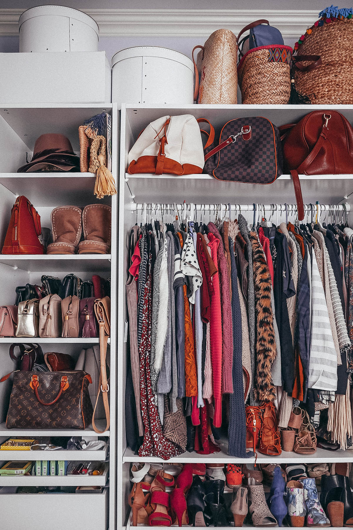 How To Clean Your Closet how to clean out your closet | closet organization tips