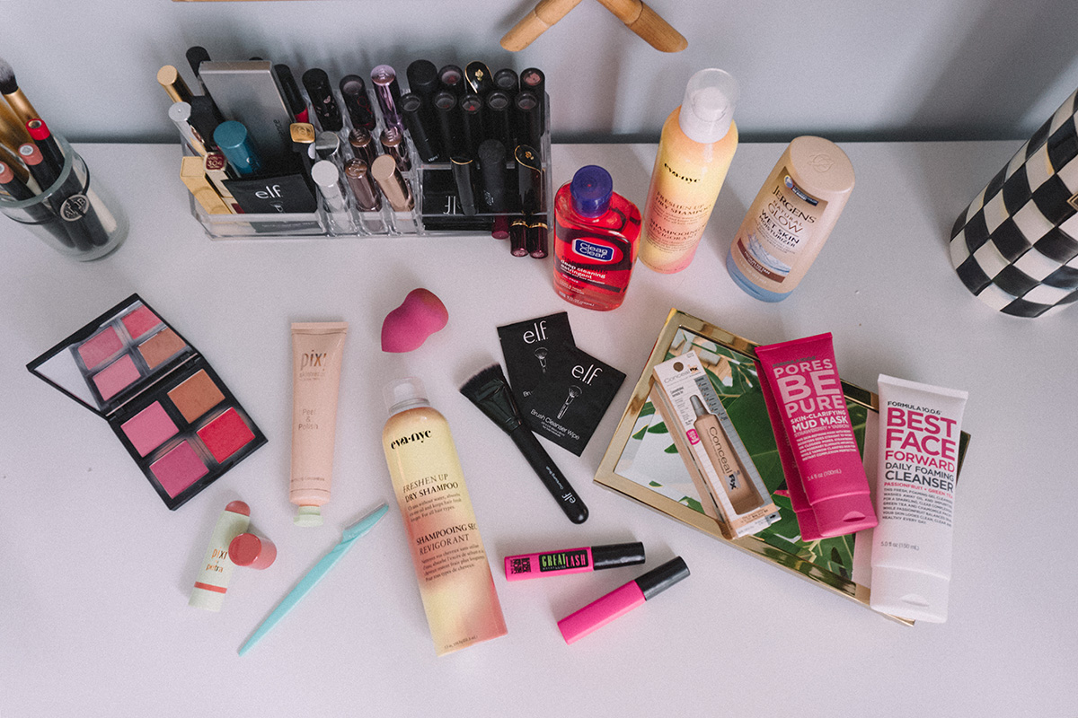 My Favorite Drugstore Beauty Products | Beauty on a Budget Blogger Favorites