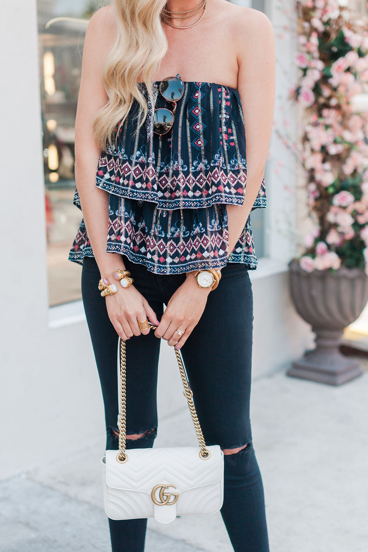 Joie Convertible Top   Late Summer Outfit Ideas