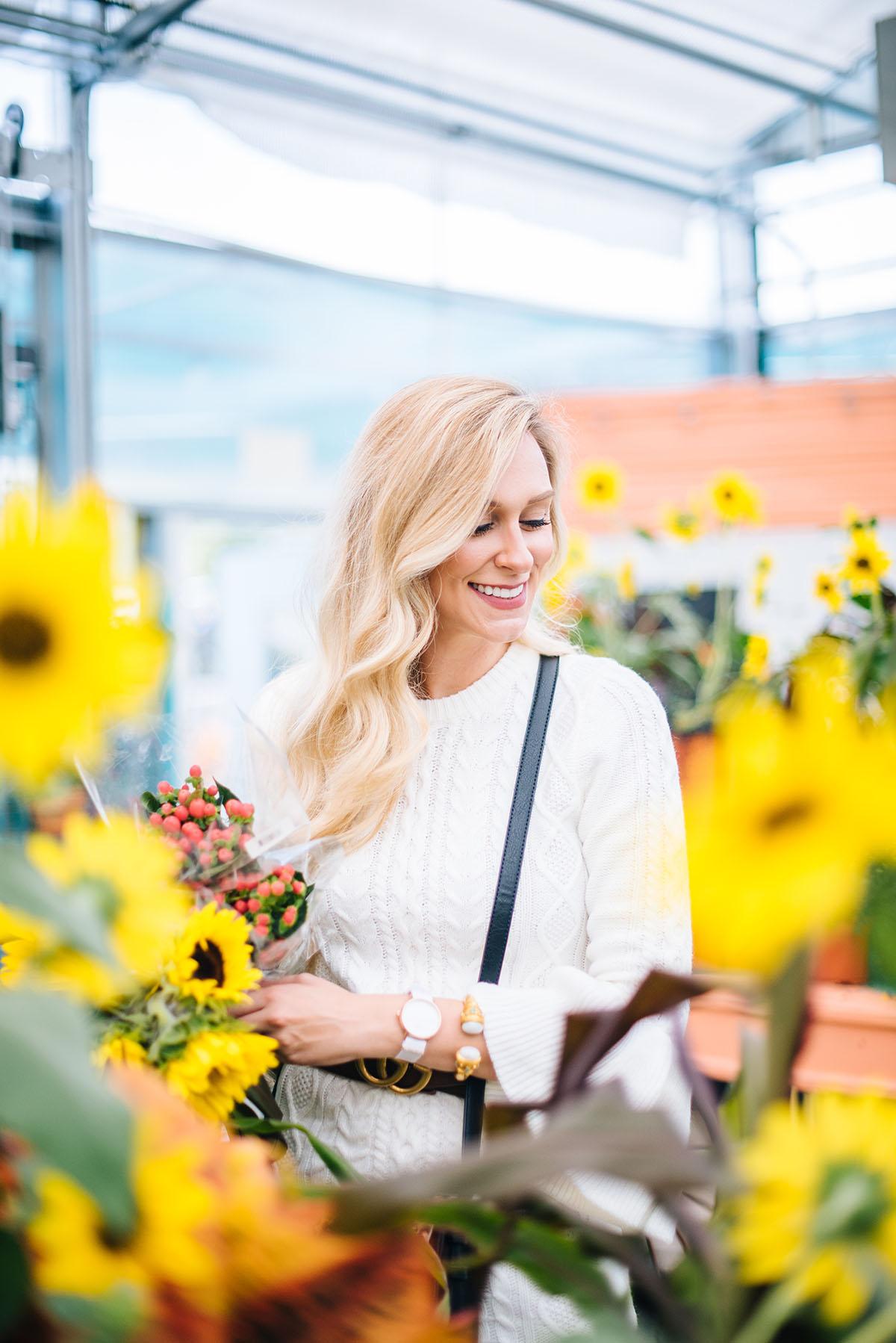 Fall To-Do List Ideas | Ivory Sweater Dress