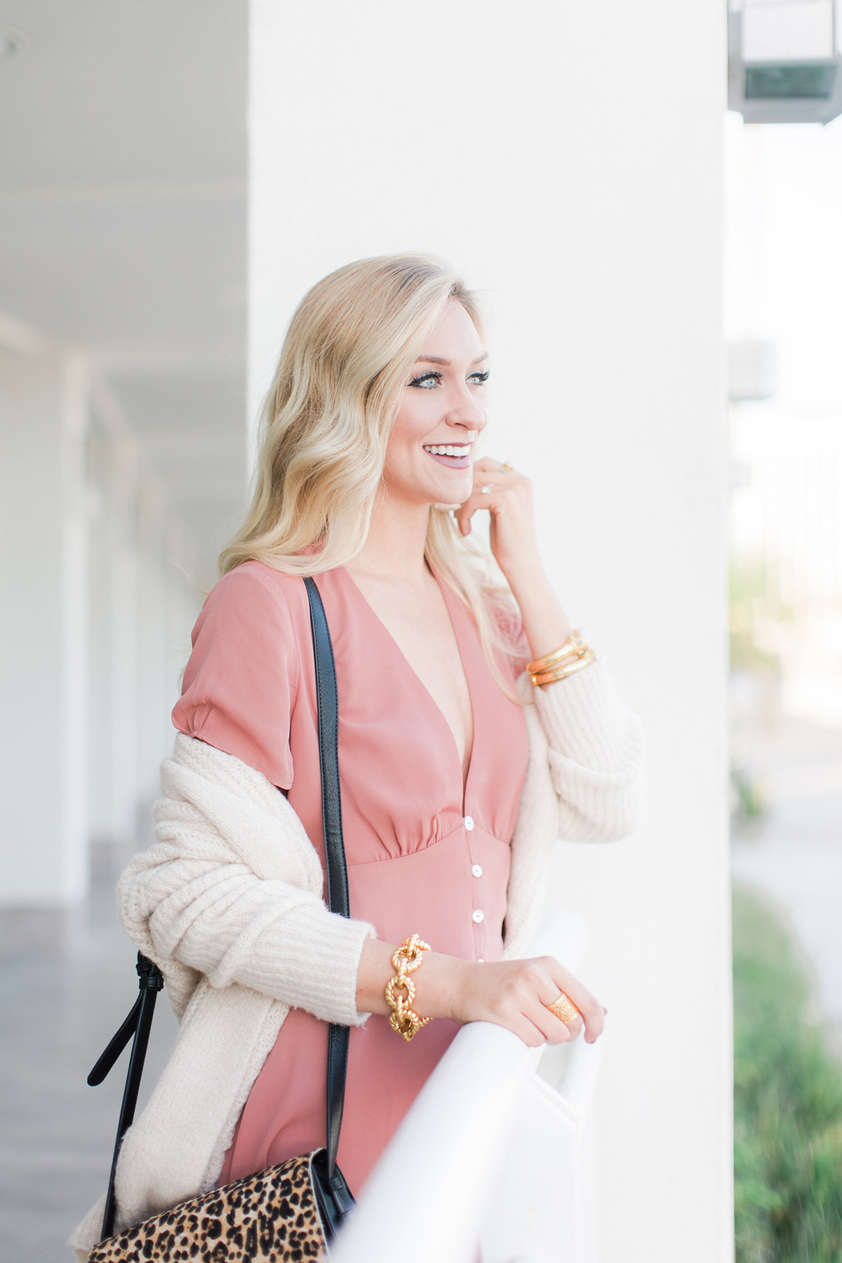 Favorite 2017 Fall Color Trend | Ballet Slipper Pink | How to Wear Pink For Fall